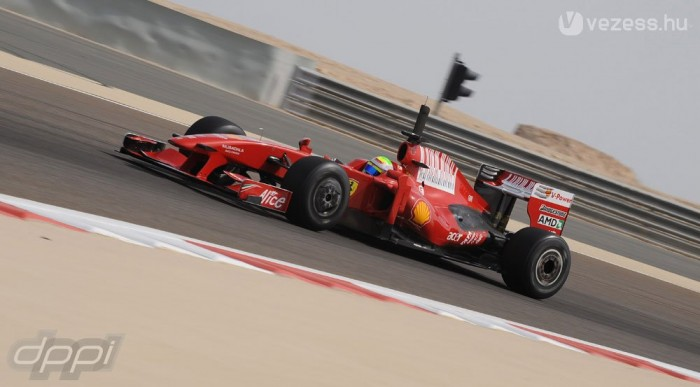 Räikkönen után Massának is pechje volt