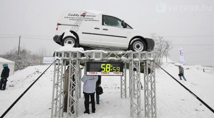 Alulról érdekes igazán a Caddy 4Motion