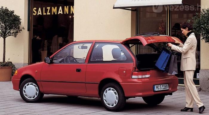 Újonnan a Suzukiból fogy a legtöbb