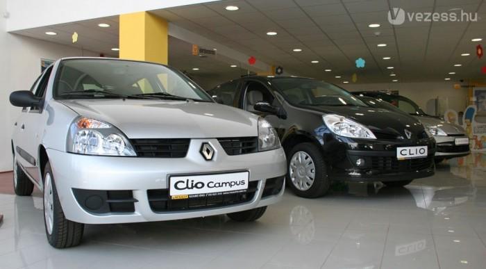 Listaáron a Clio Campus dCi is túllóg a hárommilliós kereten