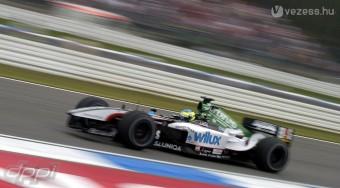 Baumgartner újra F1-est vezet
