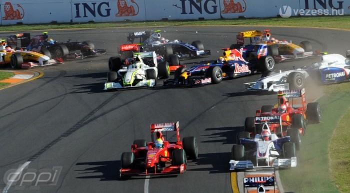 Barrichello már az elején összetörte