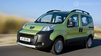 Új változatban a Peugeot egyterű