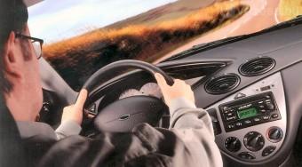 Dioptriás szélvédő autóban