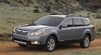 Új terepkombi a Subarutól