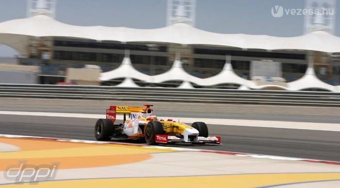 Alonso lassú volt