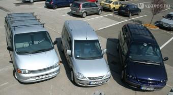 Családi autók másfélmillióból