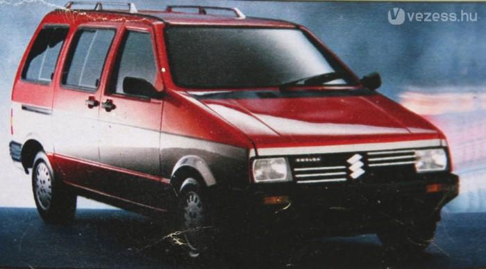 Spanyol kísérlet volt, 7 üléssel. Kép: Auto Katalog 1988, Vereinigte Motor-Verlage Gmbh & Co KG, Stuttgart