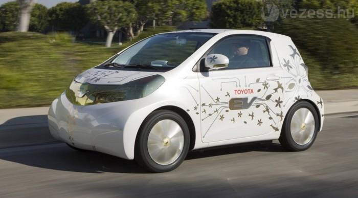Az iQ-ból épülhet villanyautó