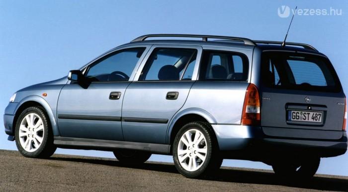 Ma a G Astra a legolcsóbb családi Opel