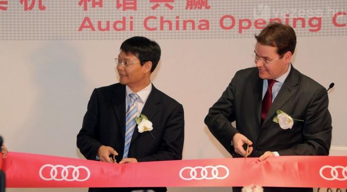 Az Audi második otthona lesz Kína
