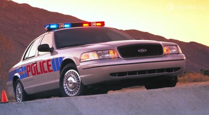 V8-as, speciális rendőrautó