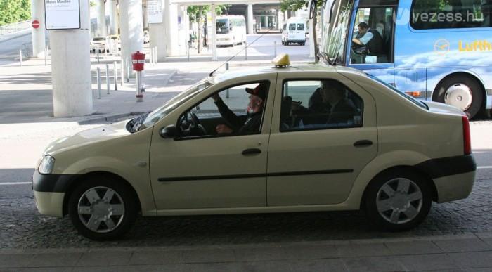 Münchenben nem büdös a Logan taxi
