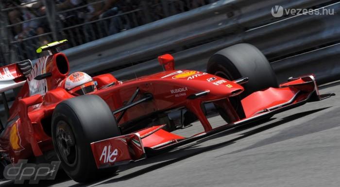 A Ferrari ennyit tudott ma - így is elégedettek lehetnek