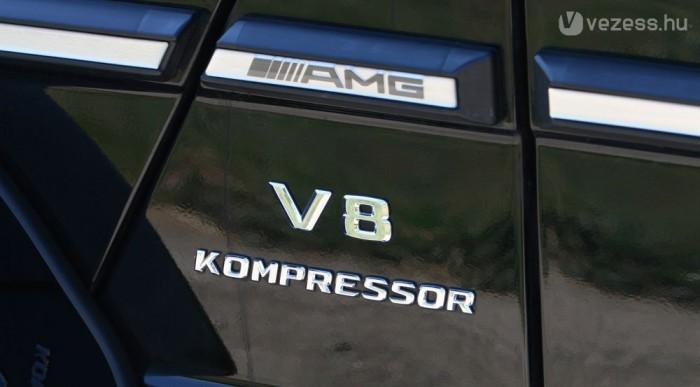 Csak a G-ben maradt meg a kompresszoros V8. Kár volna érte