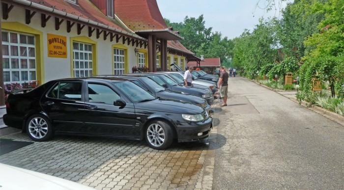 45 regisztrált autó vett részt a találkozón