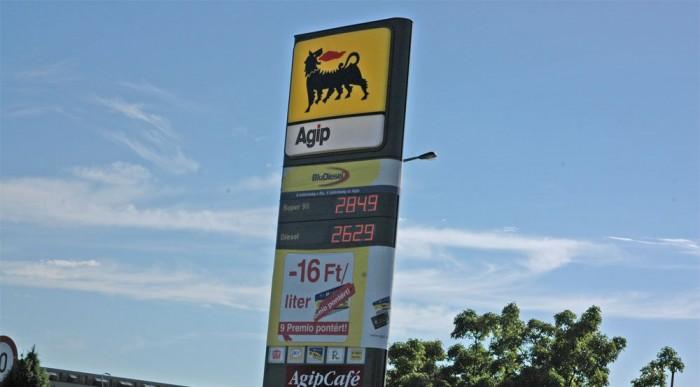 Az új Shell kúttal szemben egy forinttal drágább literje