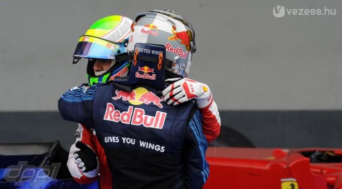 Vettel és Massa is kihozta a legtöbbet a versenyből