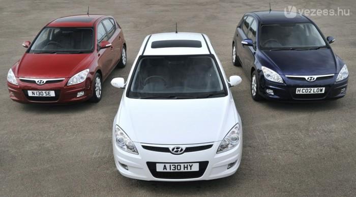 Csehországból érkezik az összes i30. A korábbi, koreai gyártású autókra most nagy kedvezmény érvényes