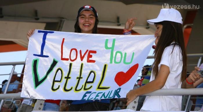 Vettel az új kedvenc