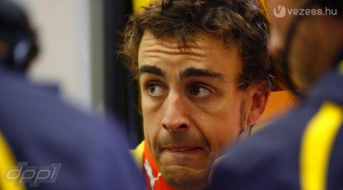 Alonso csak reménykedhet