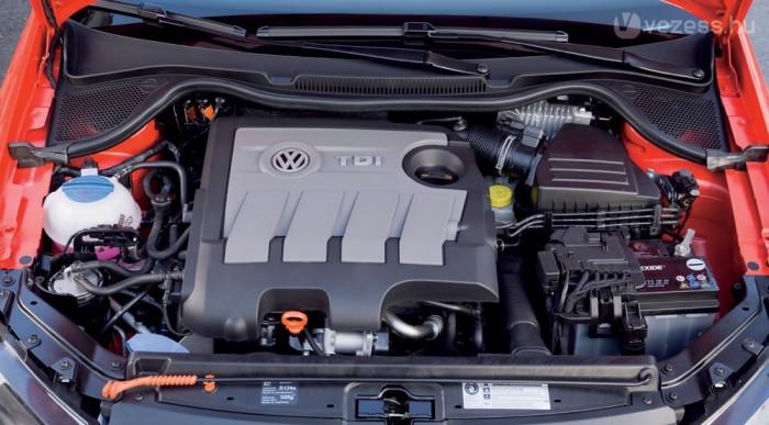 3,6 liter a BlueMotion 1.6 TDI gyári átlagfogyasztása