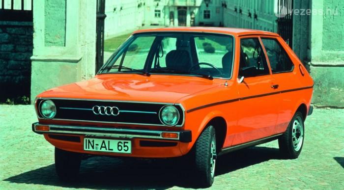 Audi 50-ként anyakönyvezték az első Polót