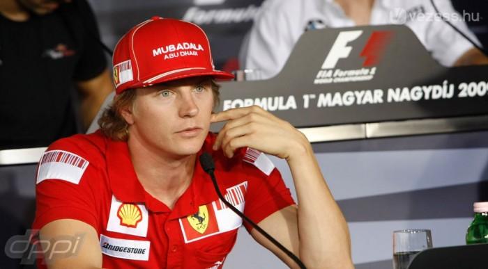Räikkönen a dobogóról beszél
