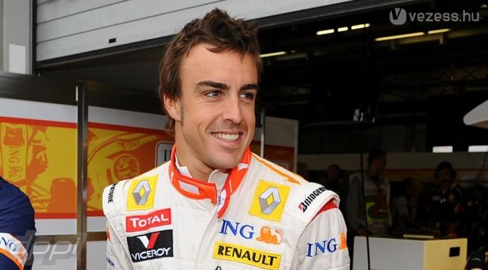 Alonso is várja, hogy tisztuljon a kép