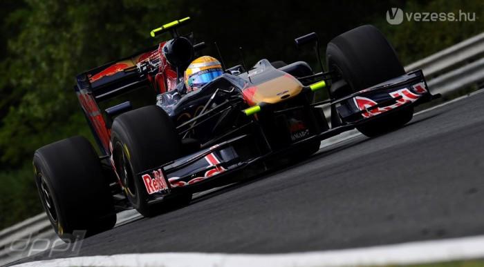 A Toro Rosso az ötödik helyig jutott