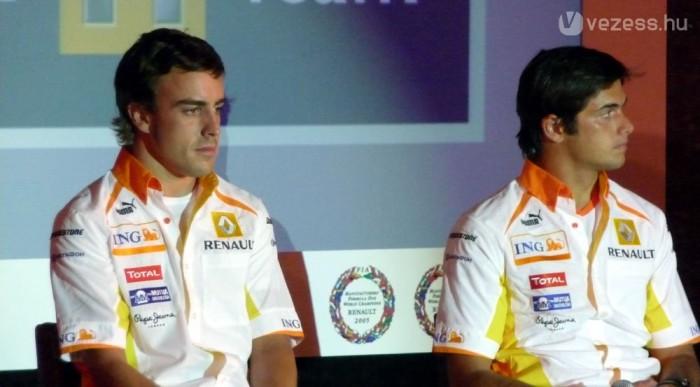 Piquet láthatóan nem érezte jól magát