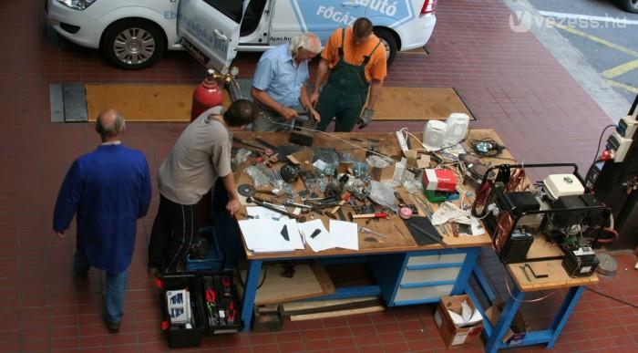 Hónapok óta dolgoznak a művön. Ez lesz a negyedik környezetbarát kísérleti jármű