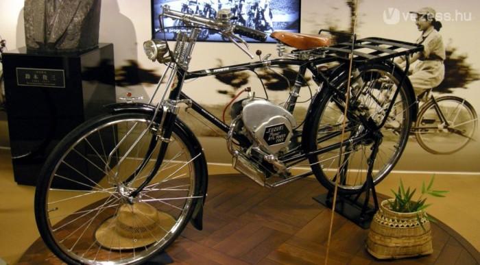 """Az első Suzuki """"motor"""""""