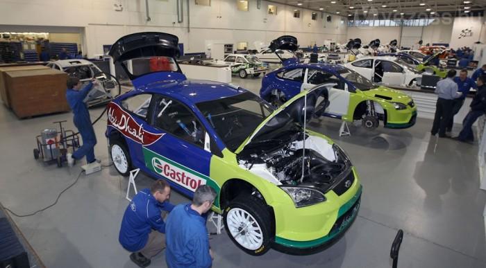 Már közel 100 Focus WRC készült