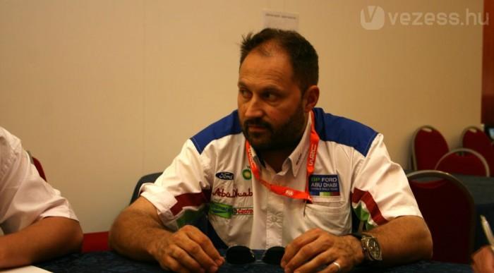 Loriaux kedvence az a Subaru, amivel Richard Burns 2001-ben világbajnoki címet nyert