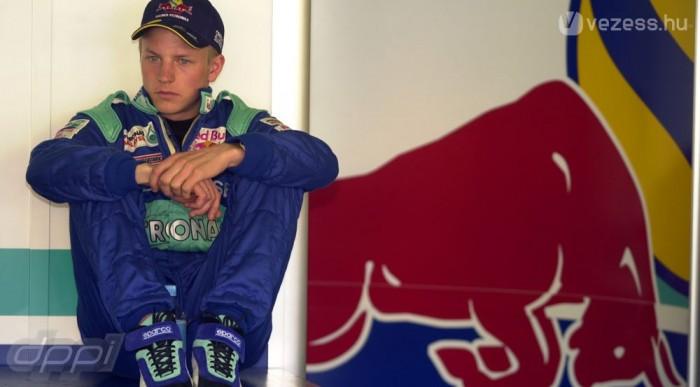 Räikkönen is a Sauberben debütált