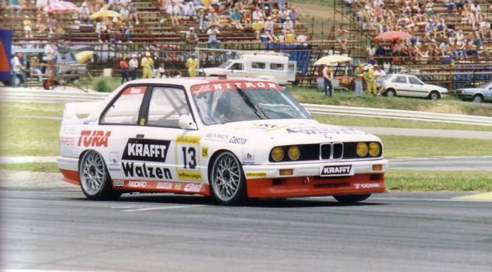Korábban már indult a DTM-ben a BMW