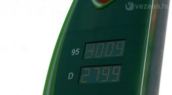 Mától újra 300 Ft felett a benzin!