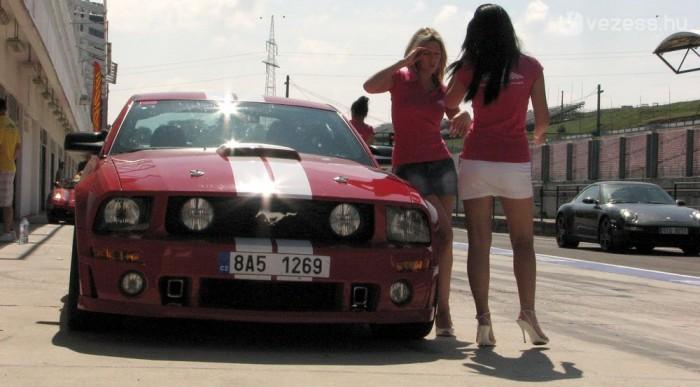 Lányok a Mustanggal megint