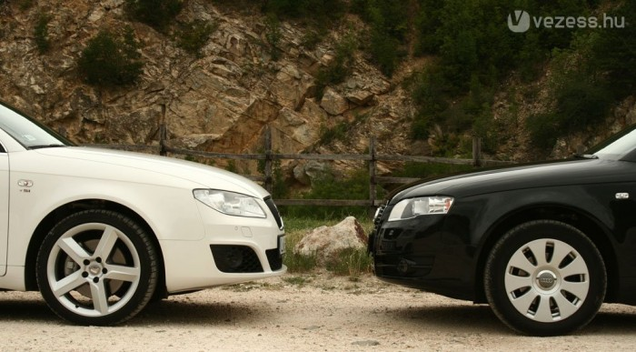 Két teljesen különböző autó, de csak ebből a szögből
