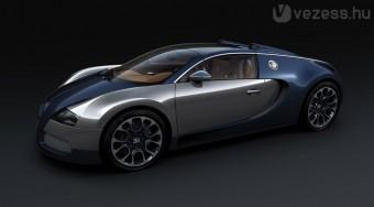 Újabb 1000 lóerős Bugatti