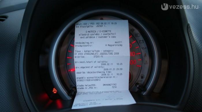 Fizetni kell az autópályáért, négy napra 1530 Ft