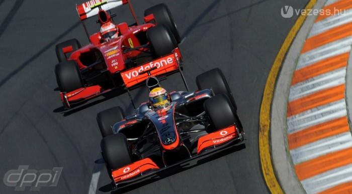 Már csak a Ferrari és a McLaren tart ki mellette