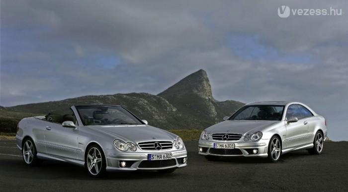 Minőségi autó a Mercedes-Benz CLK a felmérések szerint