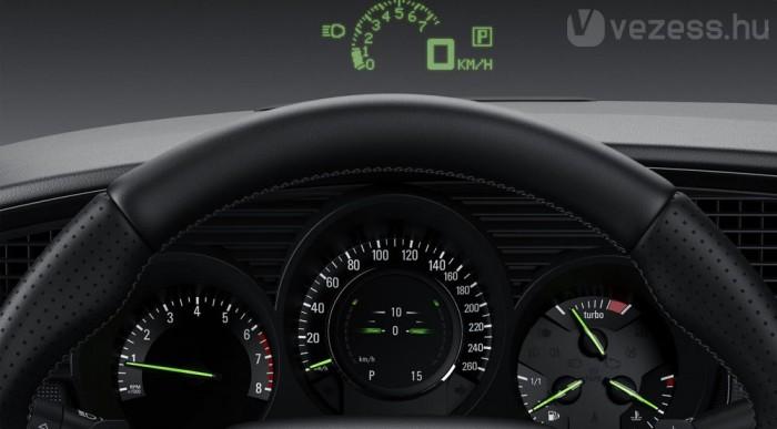 Magasságjelzős óra és head-up display
