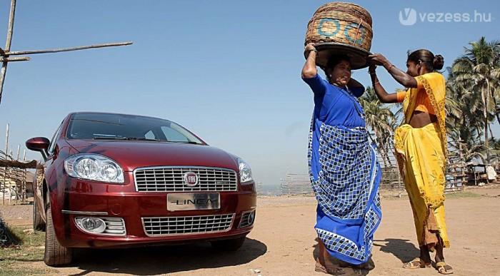 Egy indiai fotó, ott is kapható a Linea