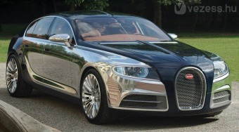 Mindenvivő luxus Bugatti - videó