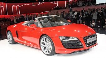 Övmikrofon az 500 lovas Audiban