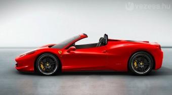 Új roadster a Ferraritól