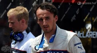 Kubica hóban versenyezne